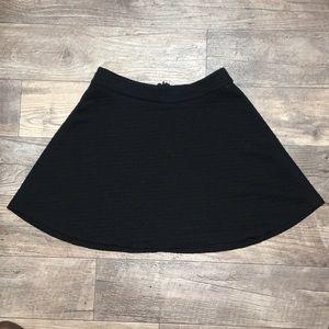 Banana Republic Quilted Full Circle Skirt 8 Petite
